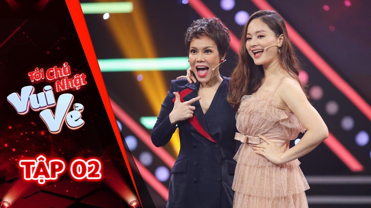 Full Tối chủ nhật vui vẻ Tập 2 | Việt Hương bất ngờ và thích thú trước cô gái đa sắc màu Lan Phương