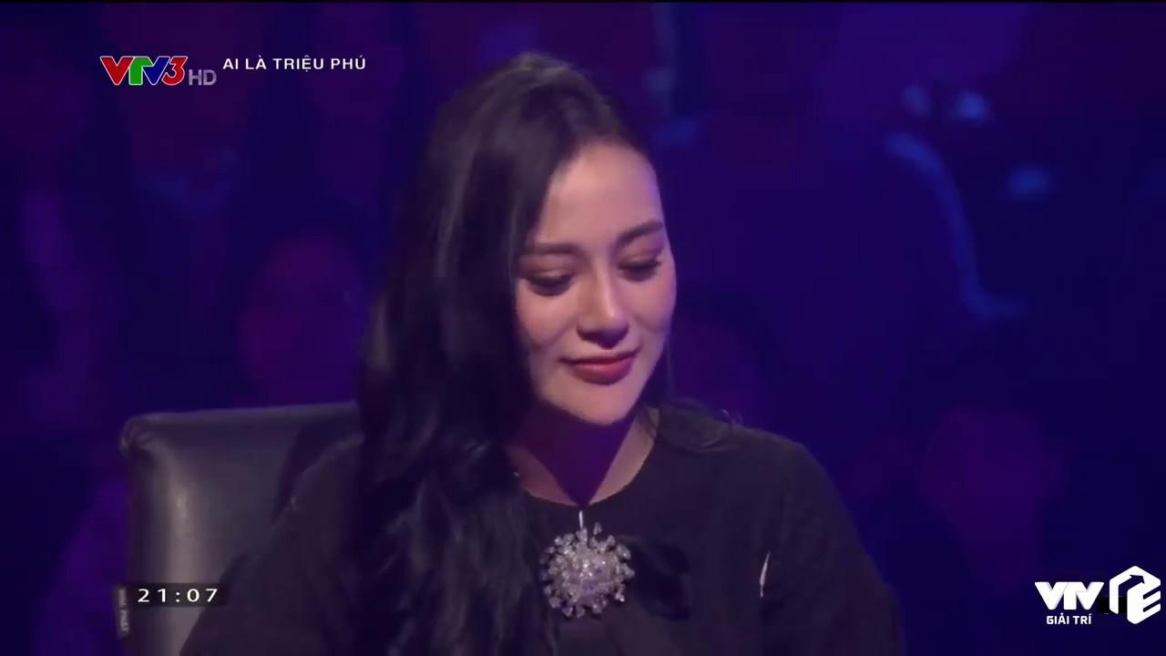 VTV Giải Trí | Quỳnh Búp Bê đi thi Ai Là Triệu Phú | Xuất sắc ẳm về 14 triệu đồng