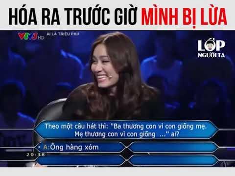 VTV3 - Ai Là Triệu Phú - Ba Thương Con Vì Con Giống Mẹ, Mẹ Thương Con Vì Con Giống....