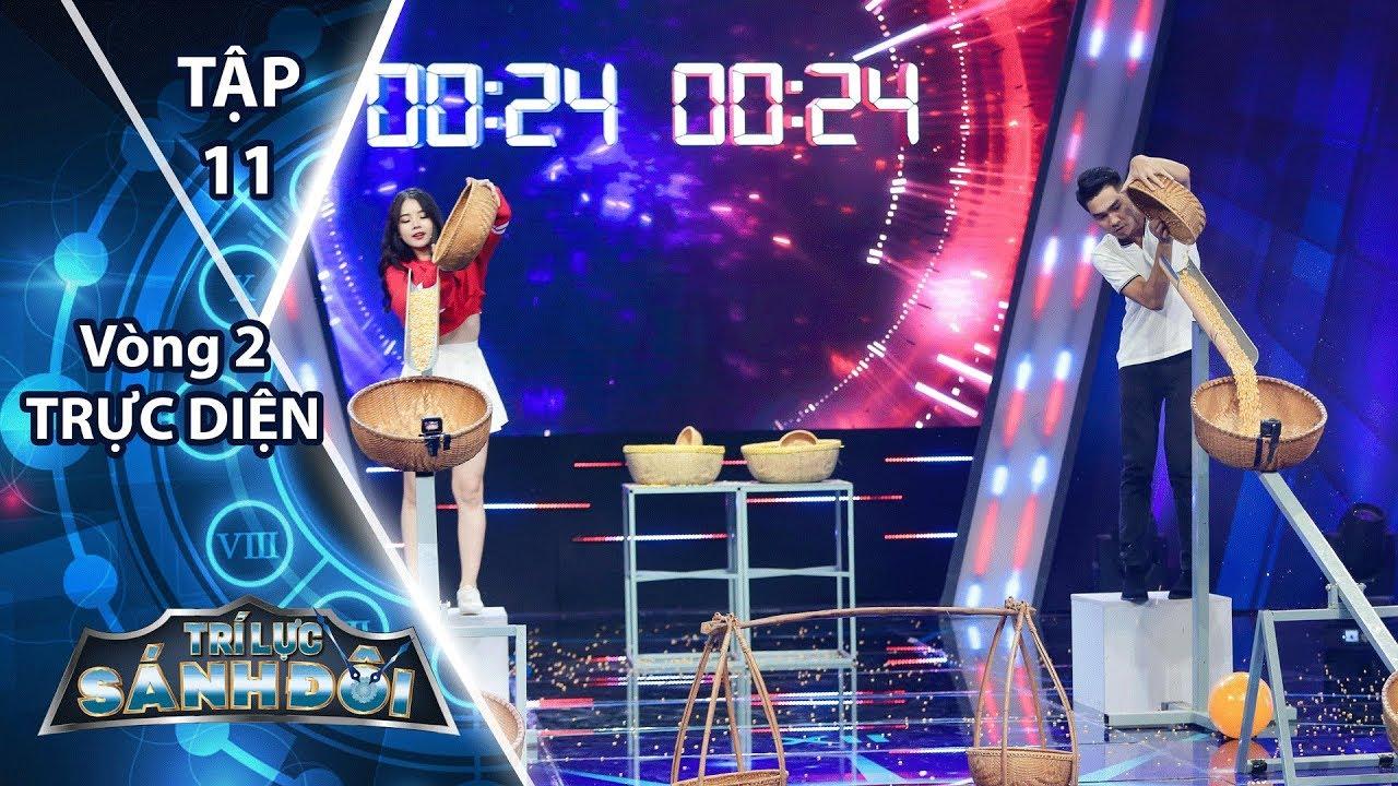 Trí Lực Sánh Đôi - Tập 11 Vòng 2   Để mất lợi thế Mr. T và DJ Mie vẫn dành chiến thắng
