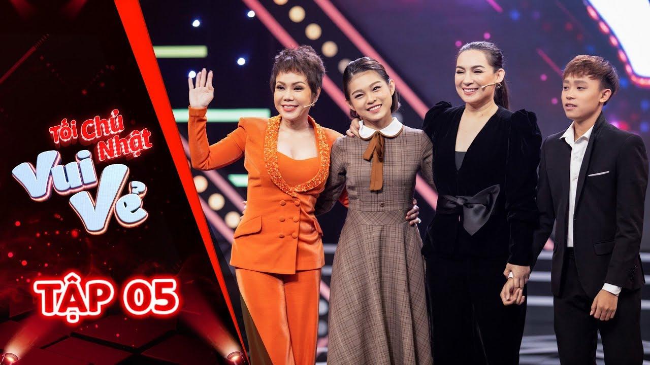 Full Tối Chủ Nhật Vui Vẻ tập 5 | Lắng nghe nỗi niềm của Nữ Hoàng băng đĩa Phi Nhung