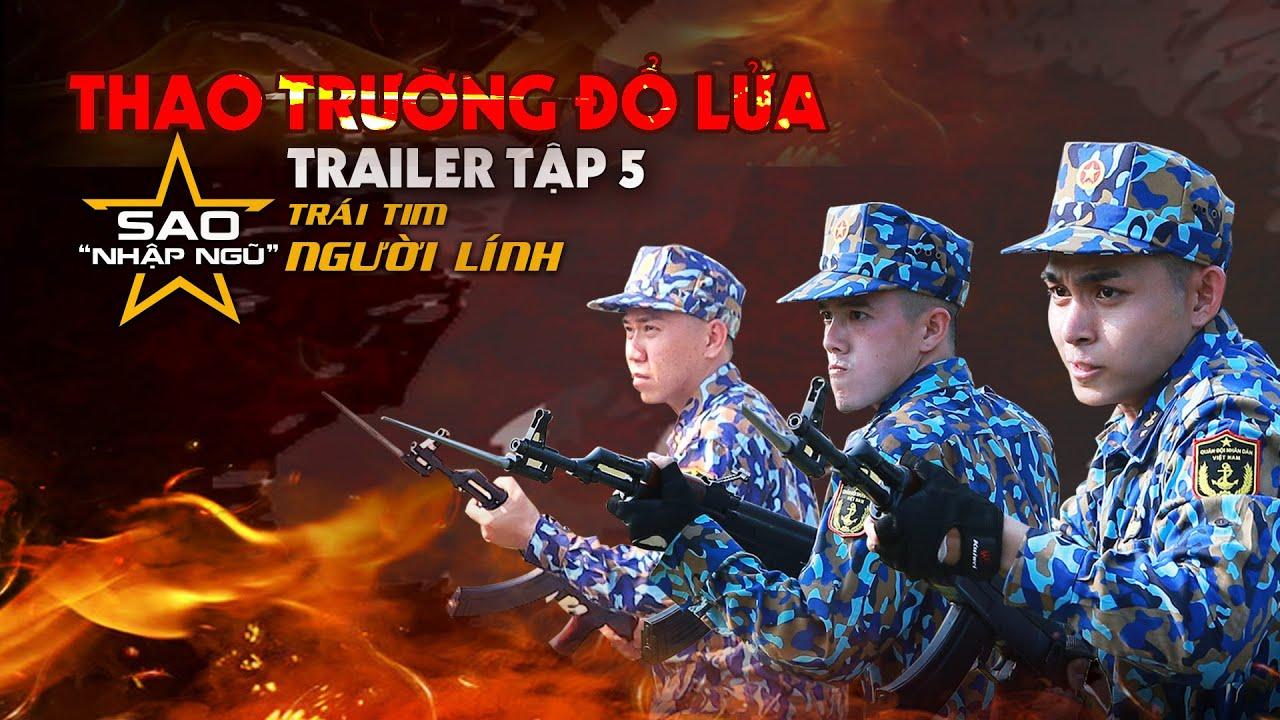 Sao nhập ngũ 2019   Trailer   Tập 5   Jun Phạm & Minh Châu bị thương, fans đau đến quặn lòng