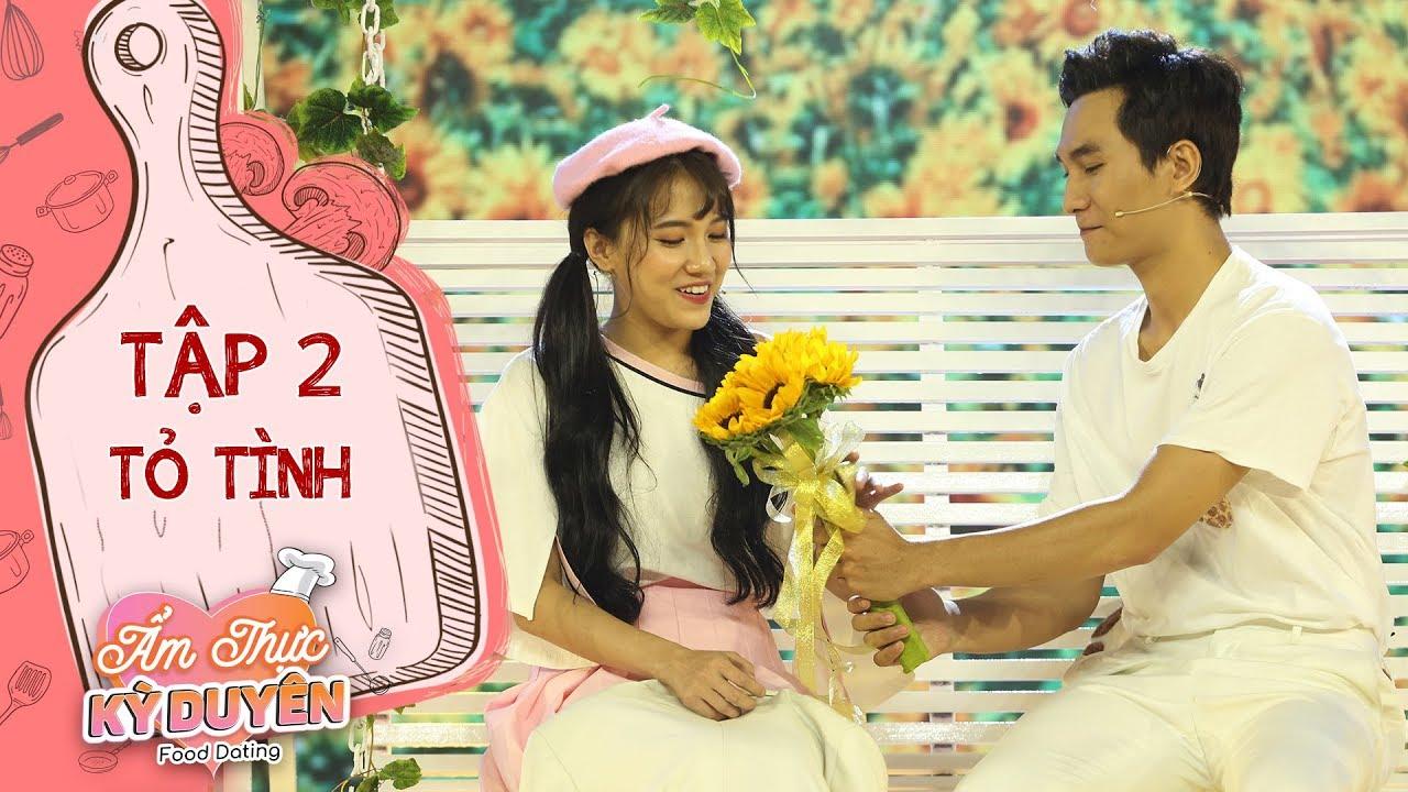 Ẩm thực kỳ duyên|Tập 2 màn tỏ tình:Anh Tuấn mang cánh đồng hoa hướng dương lên sân khấu tỏ tình Emma