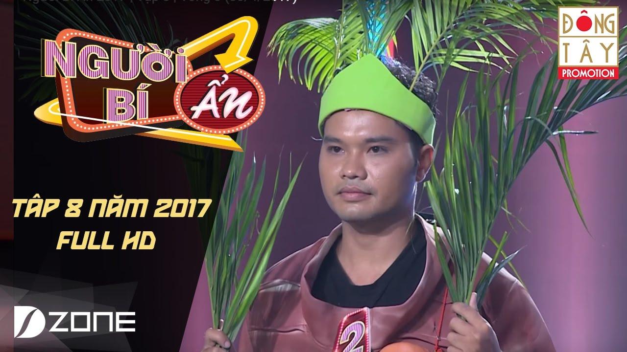 Người Bí Ẩn 2017   Tập 8   Vòng 3: Ai là người có khả năng khinh công đập bể trái dừa(30/4/2017)