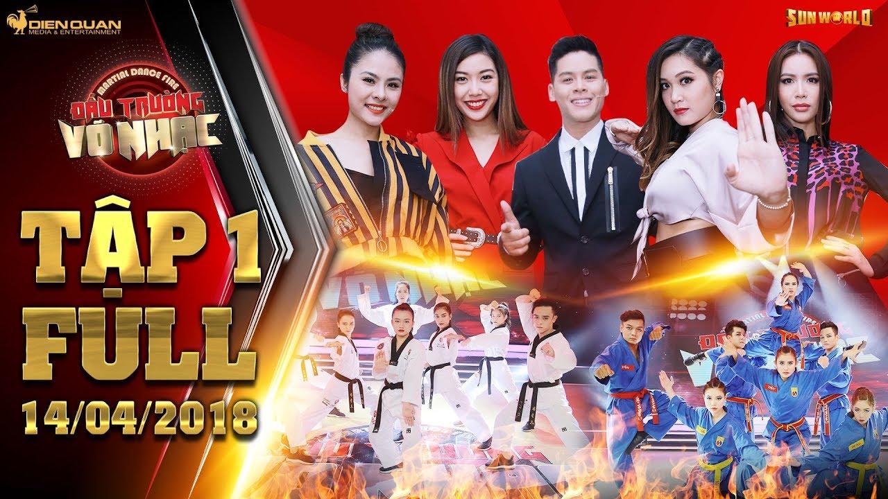 Đấu trường võ nhạc|tập 1 full: Minh Tú, John Huy, Gemma,Vân Trang há hốc trước sự máu lửa của 5 nhóm