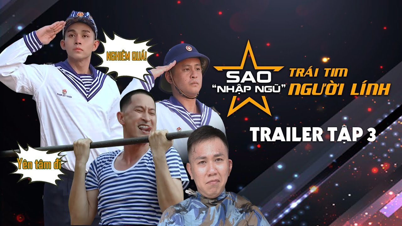 """Sao nhập ngũ 2019   Trailer   Tập 3   Jun Phạm khoe cơ bắp, La Thành thánh """"troll"""" đồng đội"""