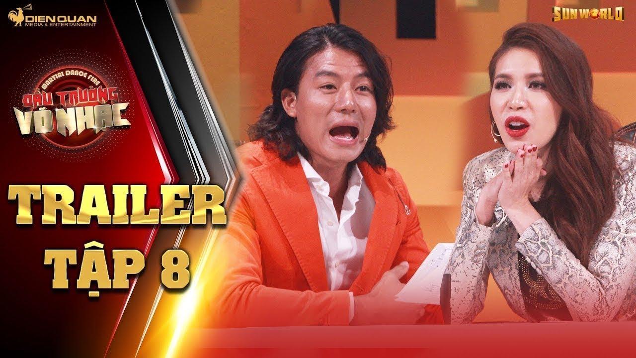 Đấu trường võ nhạc|trailer tập 8: Minh Tú, Hiếu Nguyễn kinh ngạc với các màn võ nhạc của bảng D