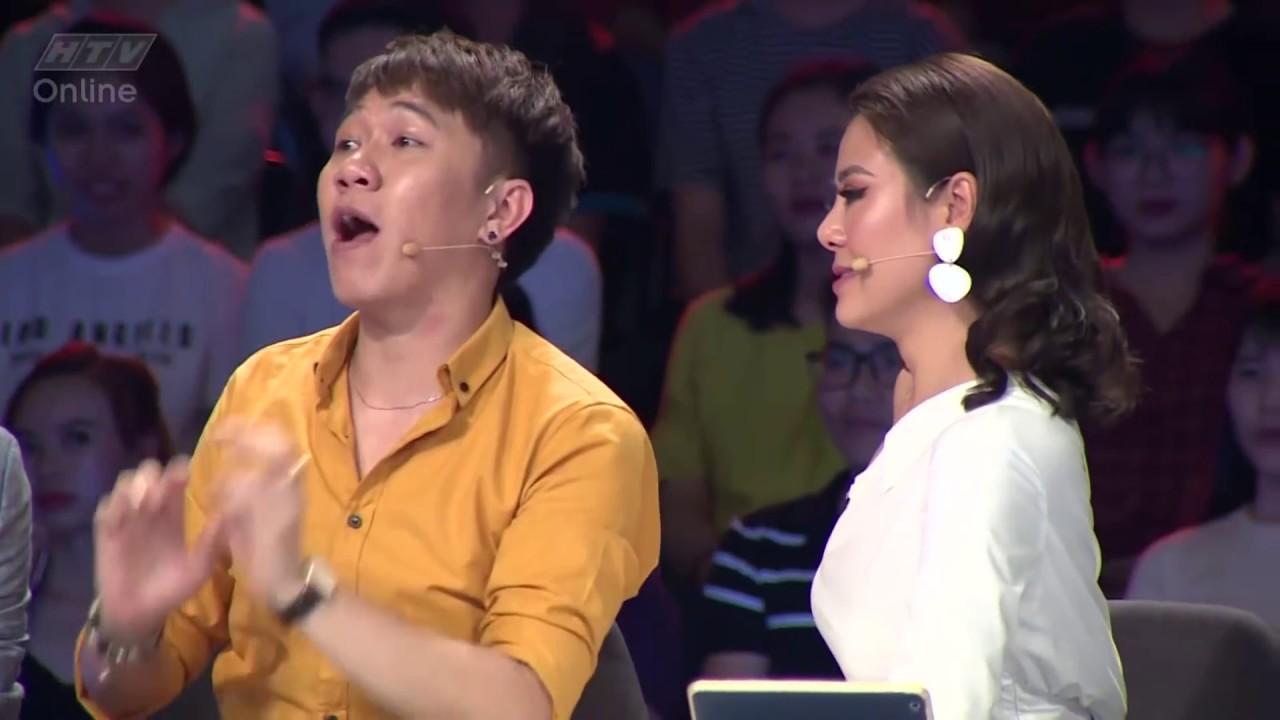Nam Thư - Anh Đức hát lô tô Alibaba   HTV NGƯỜI BÍ ẨN 5   NBA #10   10/6/2018