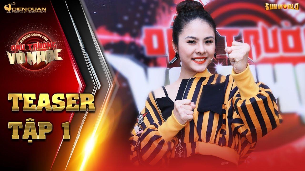 Đấu trường võ nhạc | teaser tập 1: Vân Trang bất ngờ tung tuyệt chiêu độc khiến ai cũng bất ngờ