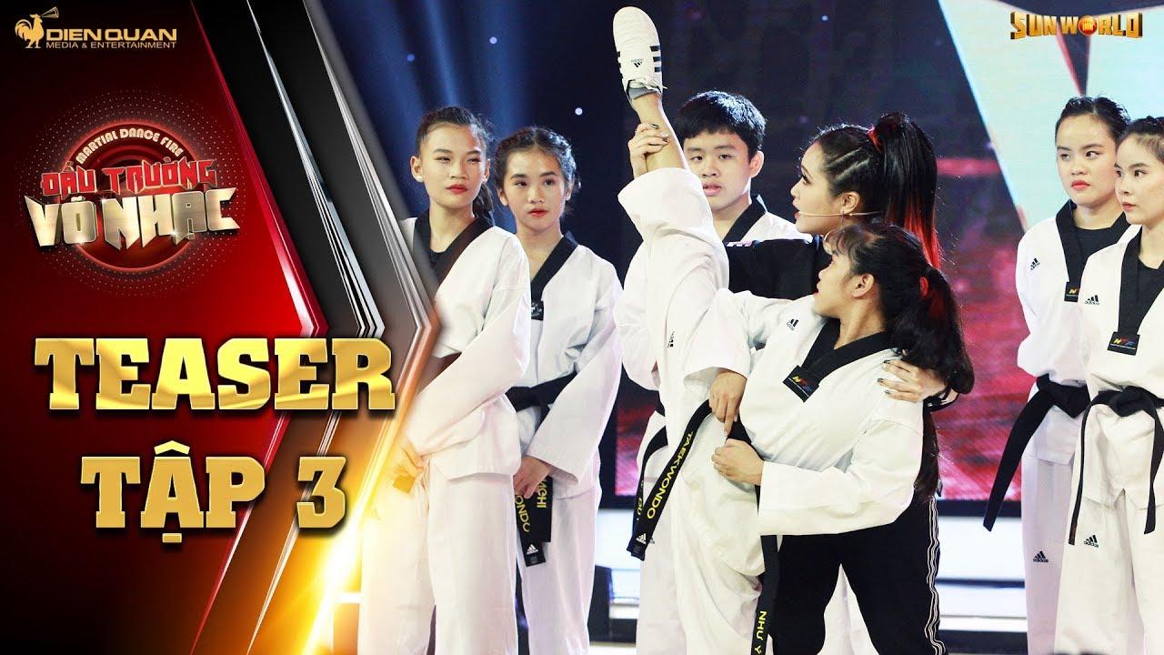 Đấu trường võ nhạc | teaser tập 3: Gemma Nguyễn xuống sân, nhiệt tình hướng dẫn cho các thí sinh