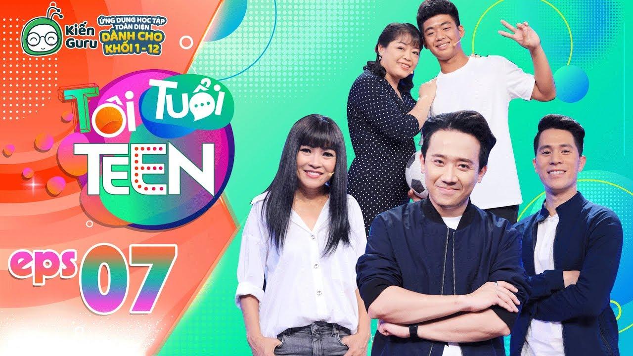 Tôi Tuổi Teen | Tập 7: Trung vệ Trần Đình Trọng gây xúc động khi tiếp lửa cho cậu bé 16 tuổi mê bóng