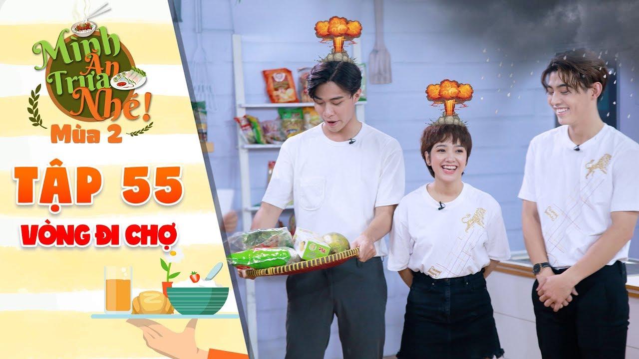 """Mình ăn trưa nhé 2   Tập 55 vòng 1: Gia Linh, Duy Dương """"bốc hỏa"""" trước sự """"đâm bang"""" của Quốc Lâm"""