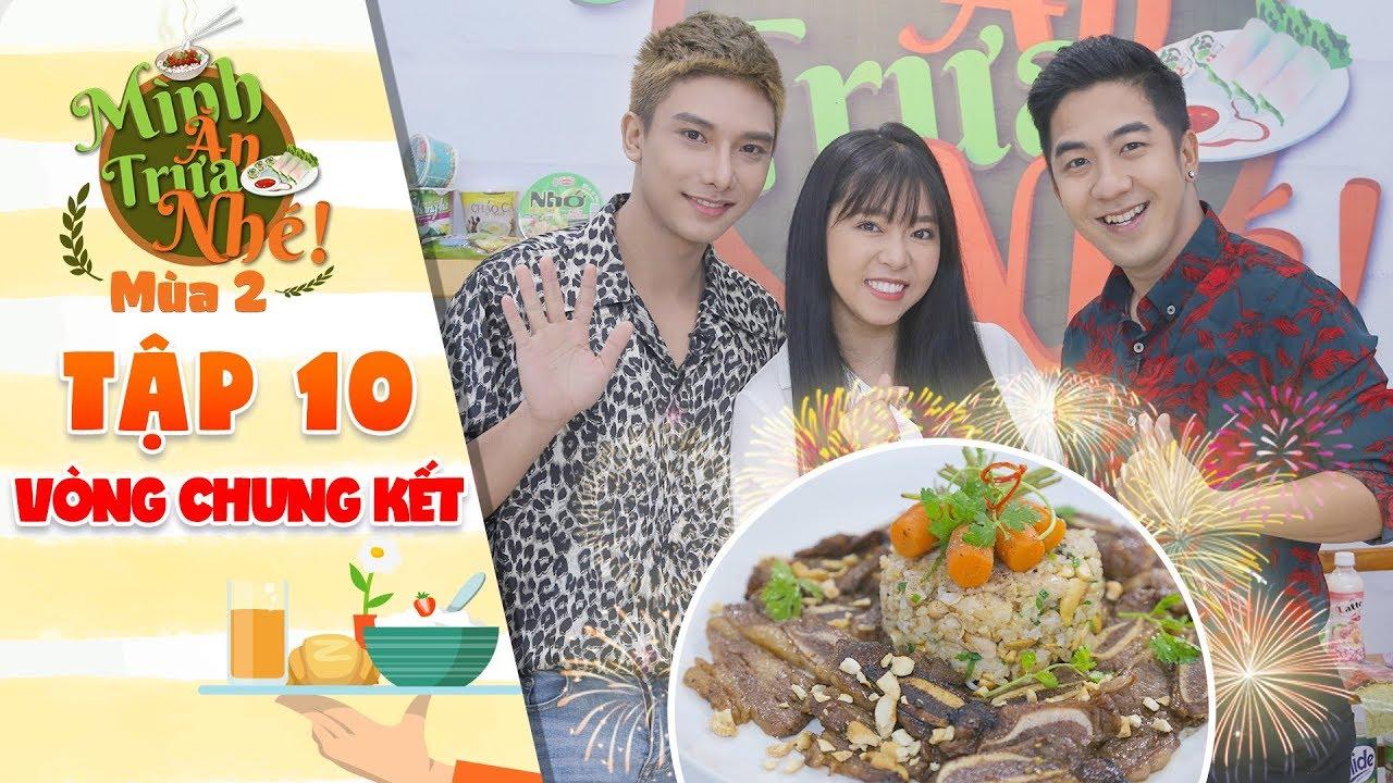 Mình ăn trưa nhé 2 Tập 10 vòng 4: Phạm Hy, Gia Linh, Đình Dương phấn khích vì món cơm xào sườn bò Mỹ
