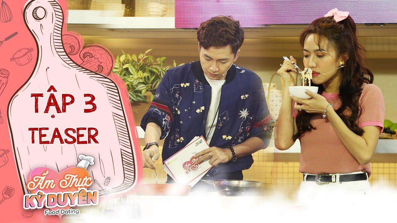 Ẩm thực kỳ duyên | Teaser tập 3: Lý do khiến Diệu Nhi, Ngô Kiến Huy tăng cân sau khi làm MC