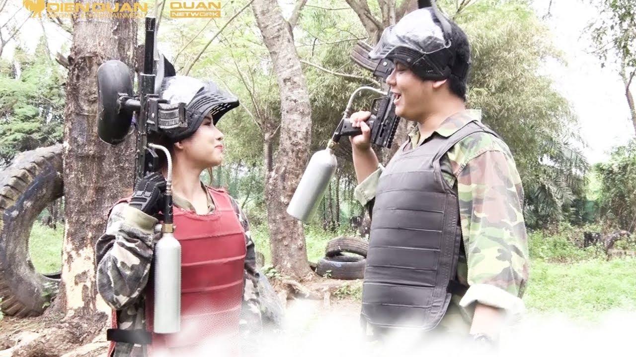 Ẩm thực kỳ duyên|Tập 18. Quyên Quyên, Hồng Đức rủ nhau đi đấu súng trong ngày đầu hẹn hò