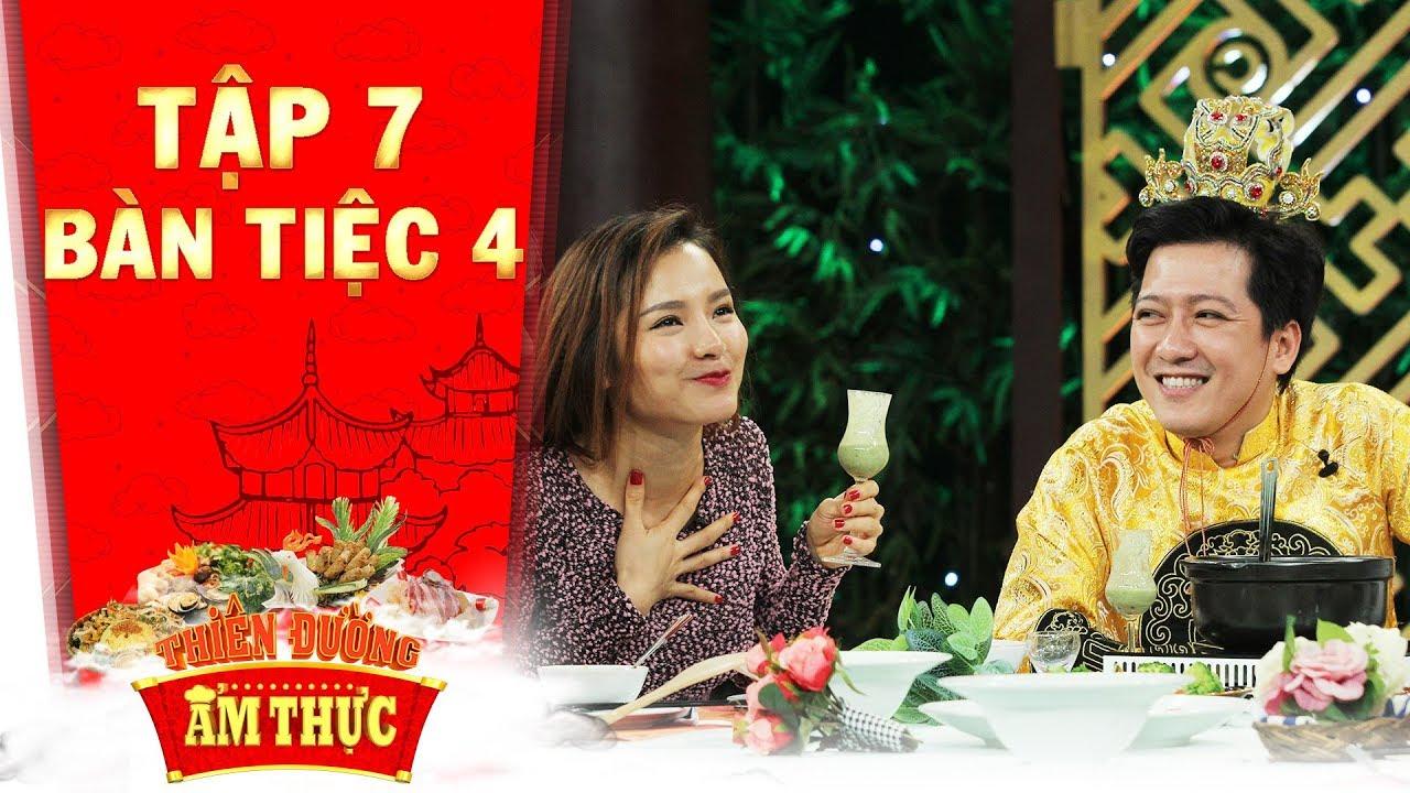 Thiên đường ẩm thực 3 | Tập 7 bàn tiệc 4: Phương Trinh Jolie để lộ ý đồ trở thành điểm nhấn hài hước