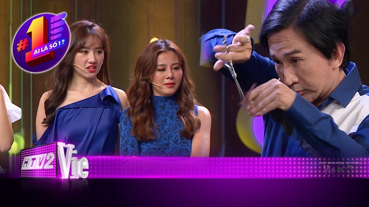 Hari Won, Nam Thư xanh mặt khi Kim Tử Long trổ tài múa kéo cắt tóc  #11 AI LÀ SỐ 1?