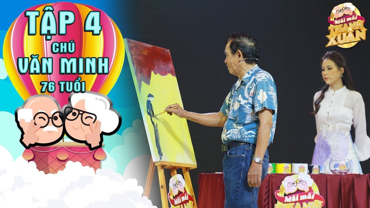 Mãi mãi thanh xuân| Tập 4: Chú 76 tuổi tìm lại niềm đam mê hội họa sau hơn 7 năm mắc chứng mất ngủ
