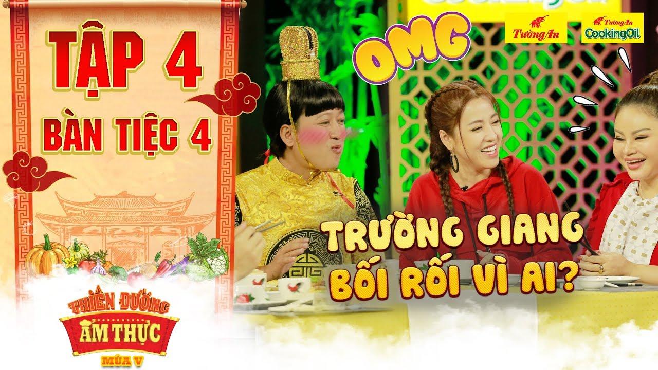 Thiên đường ẩm thực 5 | Tập 4 Bàn tiệc 4: Puka, Lê Giang cười hả hê khi ông Hoàng liên tục nói lắp