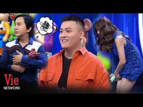 """Kim Tử Long và Nam Thư """"đánh rơi"""" TỰ TRỌNG khi thấy Fabo Nguyễn tặng mô hình Bearbrick l Ai Là Số 1"""