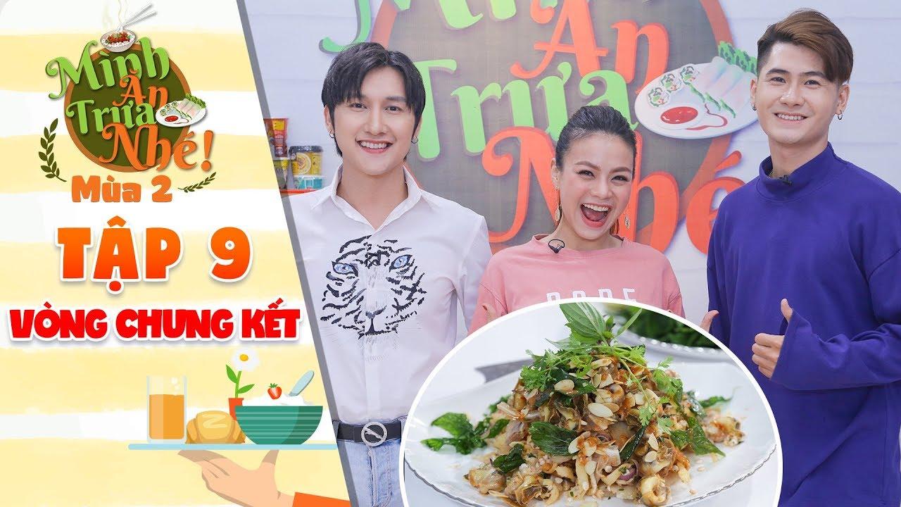 Mình ăn trưa nhé 2  Tập 9 vòng 4: Jay Son, Hải Yến, Tuấn Hiếu mãn nguyện vì phần thưởng của đầu bếp