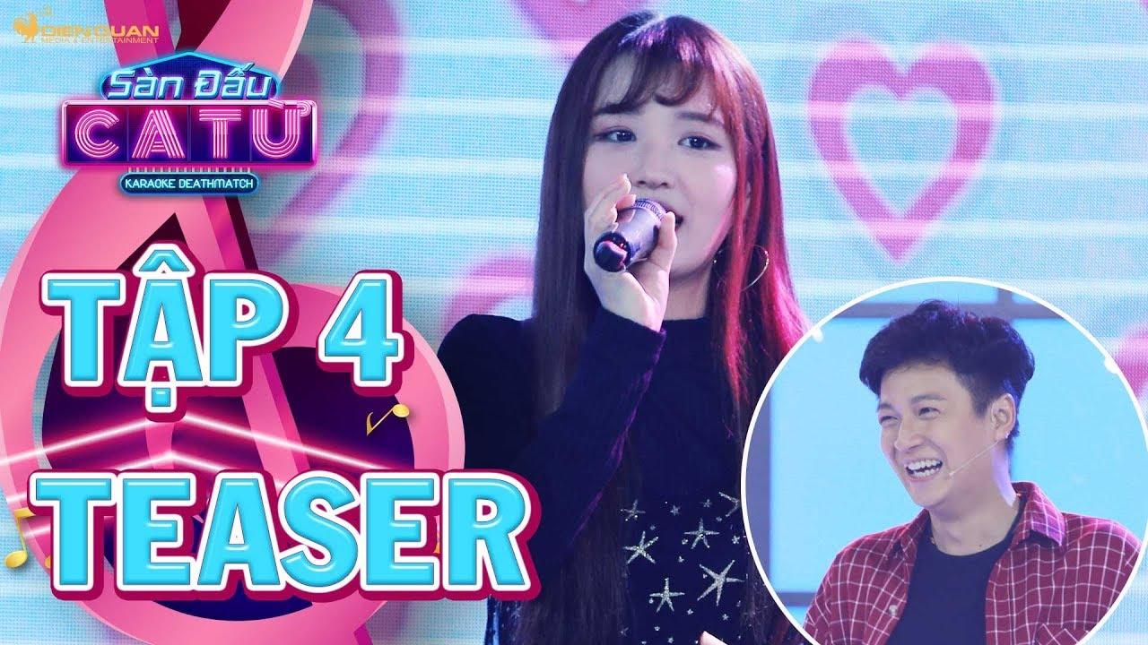Sàn đấu ca từ 2 | teaser tập 4:Xuất hiện cô ca sĩ học trò Han Sara gây hoang mang cho Ngô Kiến  Huy