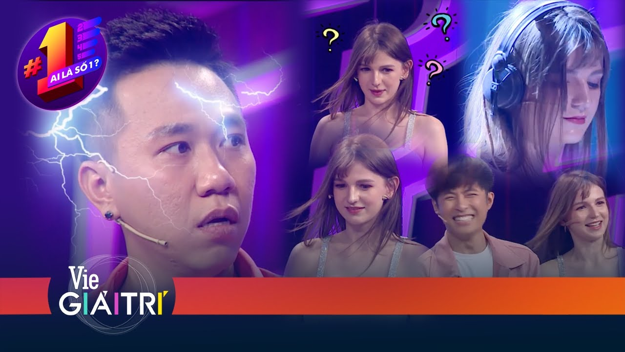 Anh Đức, Gin Tuấn Kiệt, Trường Giang đứng hình, cứng họng vì nữ DJ đẹp như tiên sa | #10 AI LÀ SỐ 1?