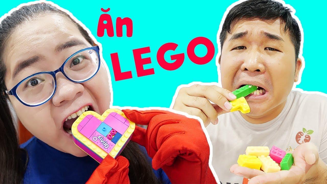 ĂN LEGO TRONG LỚP TROLL CÀ CHỚN NGHỊCH NGỢM ( LEGO FRIENDS ) LỚP HỌC BÁ ĐẠO