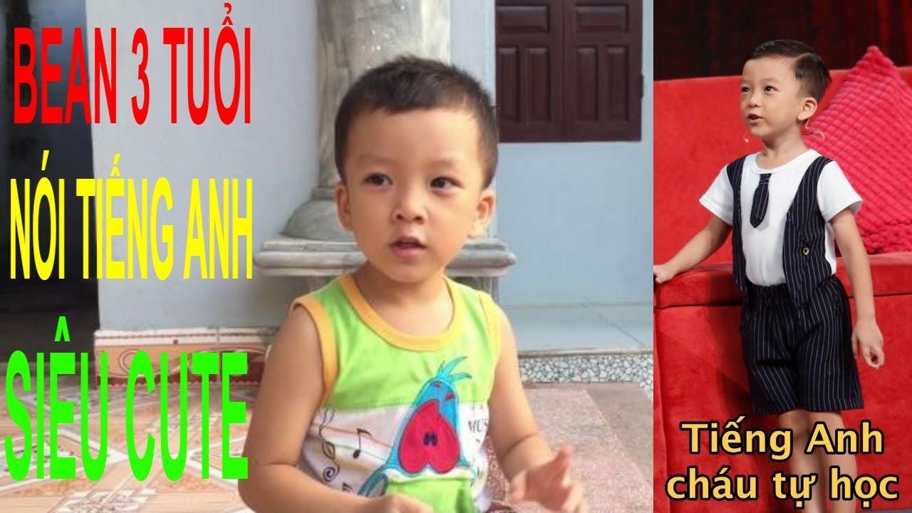 Quang Bình (Bean) 3 tuổi ✅ Thần đồng ngoại ngữ ✅ Biệt tài tí hon nói tiếng Anh siêu cute