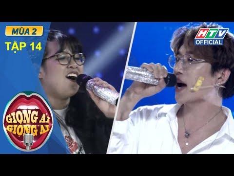 HTV GIỌNG ẢI GIỌNG AI 2 | Tiêu Châu Như Quỳnh lập kỉ lục với Châu Đăng Khoa|GAGA #14 FULL |6/1/2018