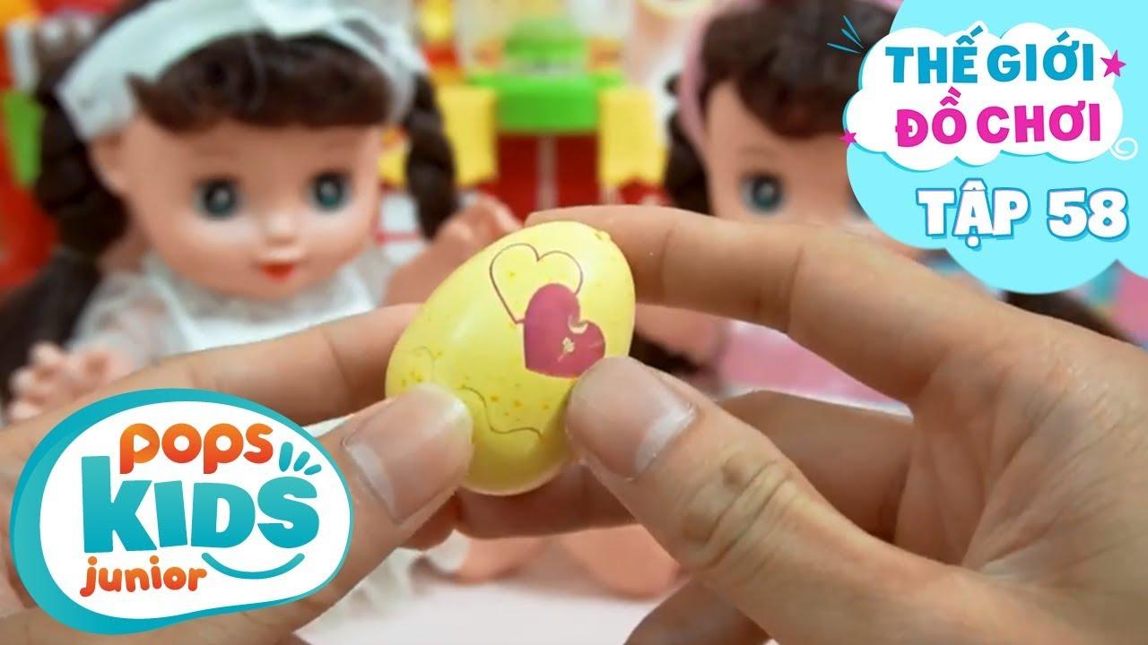 Thế Giới Đồ Chơi - Tập 58 - Trứng Phục Sinh Siêu Bất Ngờ | Baby Dolls & Toys Review