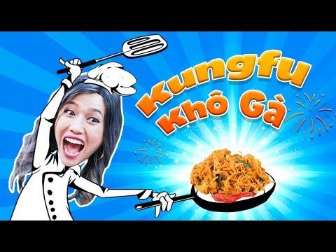 Mỹ Nhân Vào Bếp | Diệu Nhi Làm Khô Gà Bá Đạo Như Múa Kungfu | Bestcut