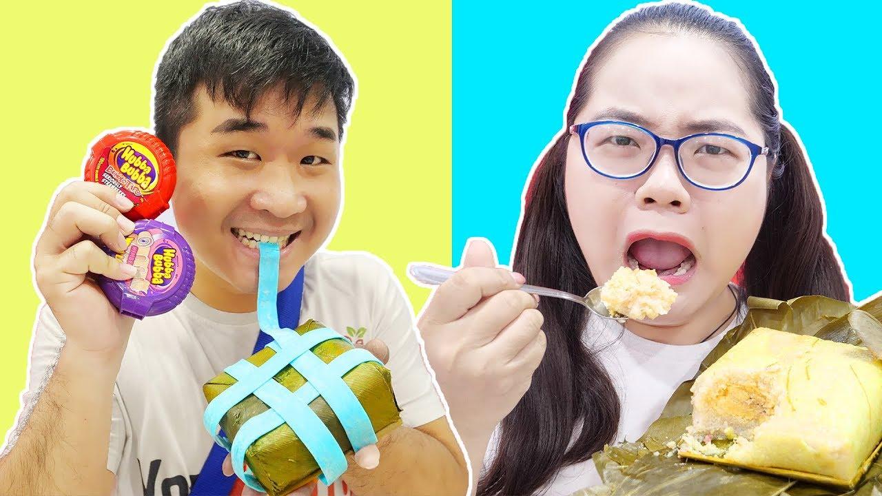 Bánh Chưng Hubba Bubba vs Bánh Chưng Thượng Hạng - Back To School Lớp Học Bá Đạo