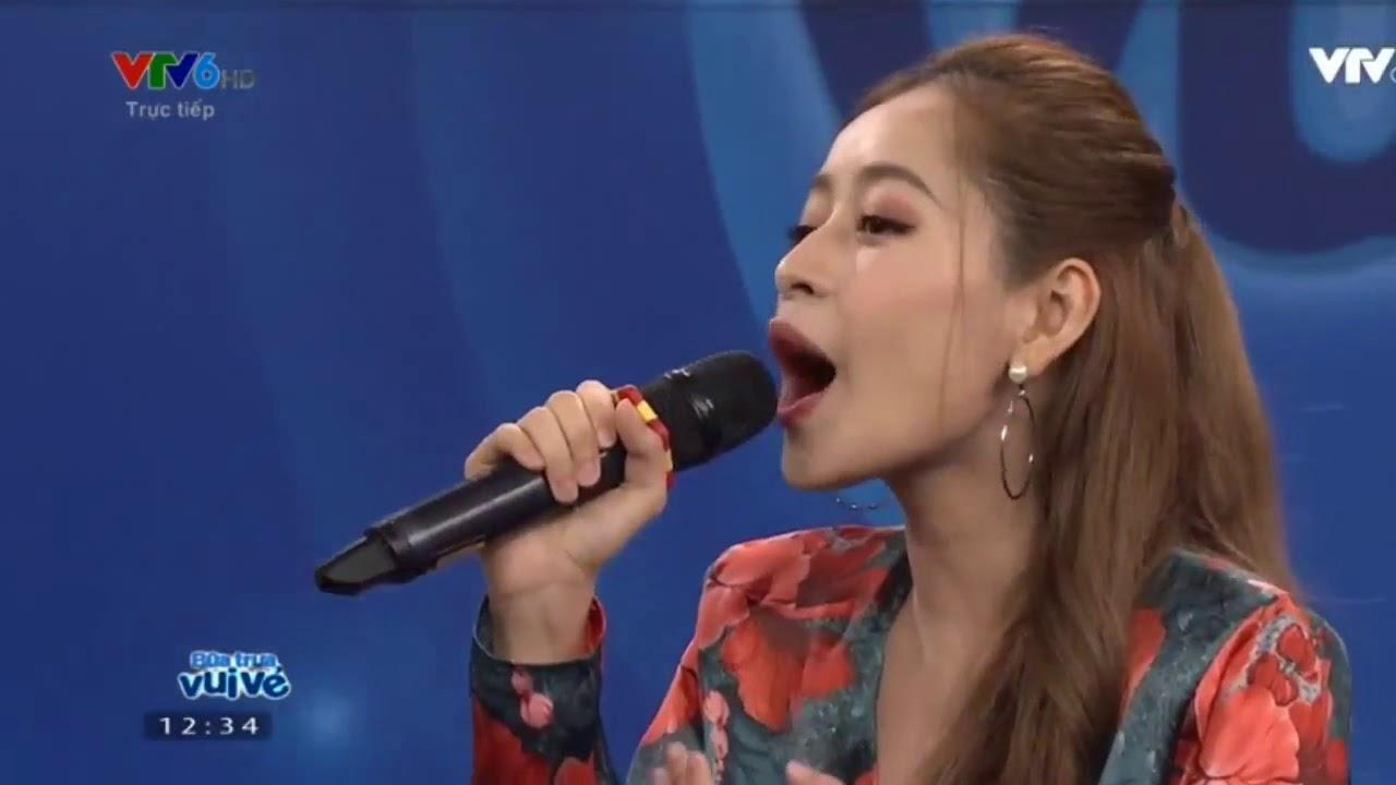 Bữa Trưa Vui Vẻ - Chi Pu hát live thảm hoạ ngày 19/11/2017