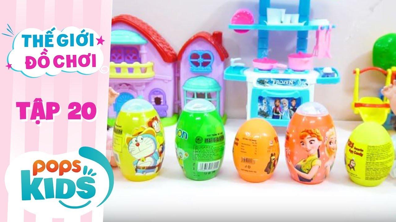 Thế Giới Đồ Chơi - Tập 20 - Bóc Trứng Đồ Chơi Siêu Bất Ngờ | Baby Dolls & Toys Review