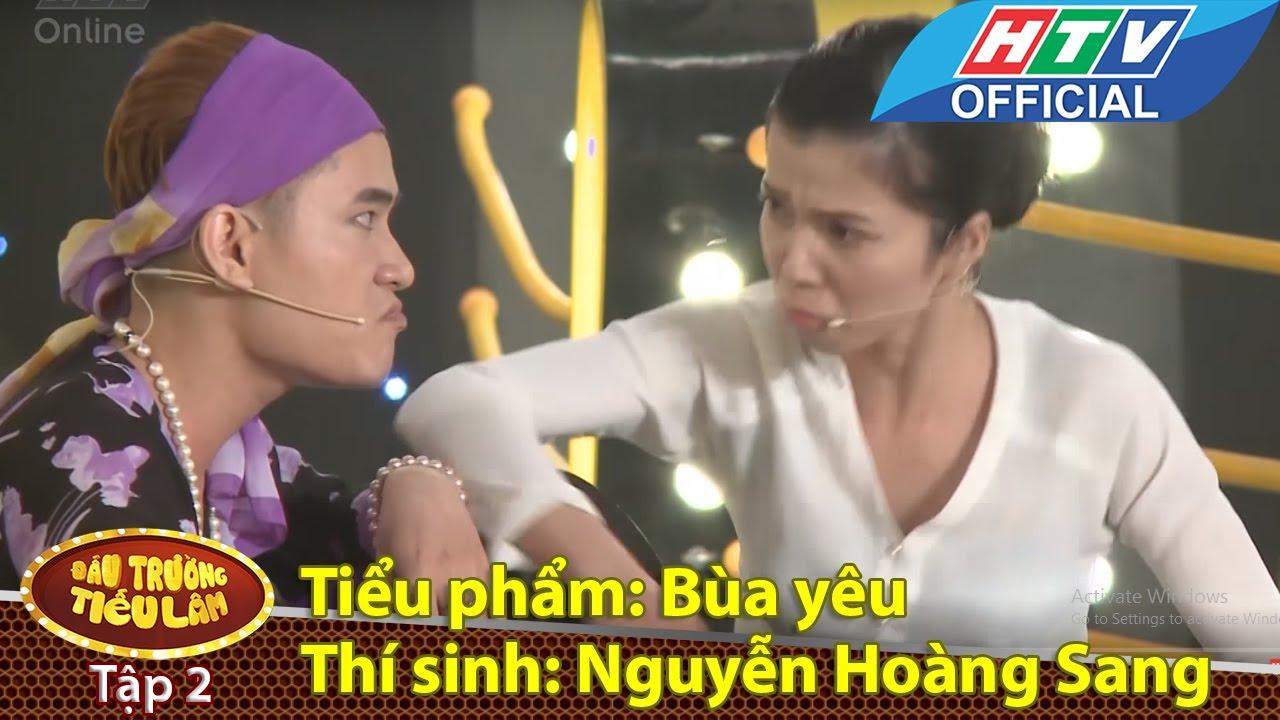 Đấu trường tiếu lâm | Tập 2 | Thí sinh 5: Nguyễn Hoàng Sang - tiểu phẩm bùa yêu | 19/4/2016 | HTV