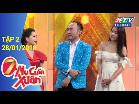 HTV 7 NỤ CƯỜI XUÂN   7NCX #2 FULL   28/1/2018