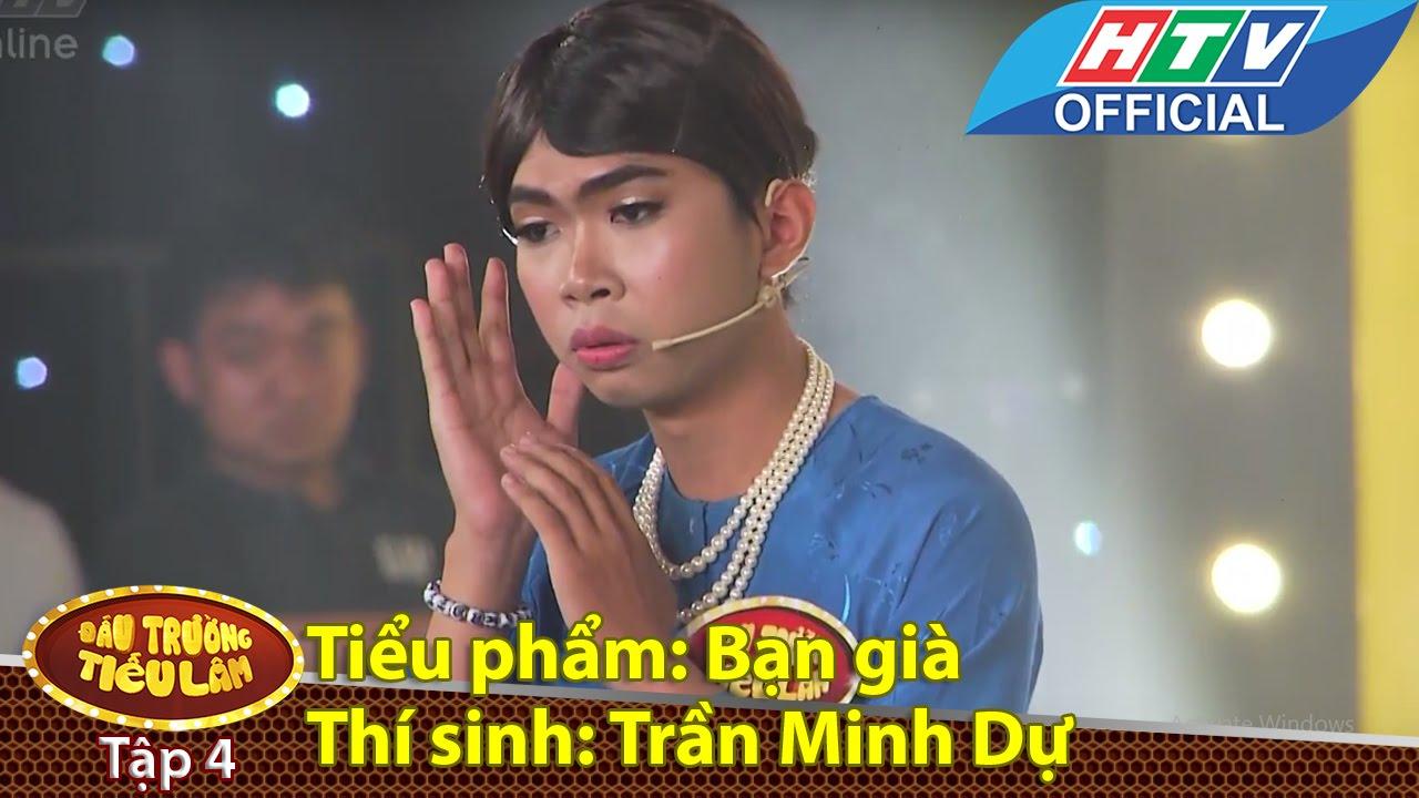 Đấu trường tiếu lâm | Tập 4 | Thí sinh 3: Trần Minh Dự - tiểu phẩm: Bạn già |3/5/2016 |HTV