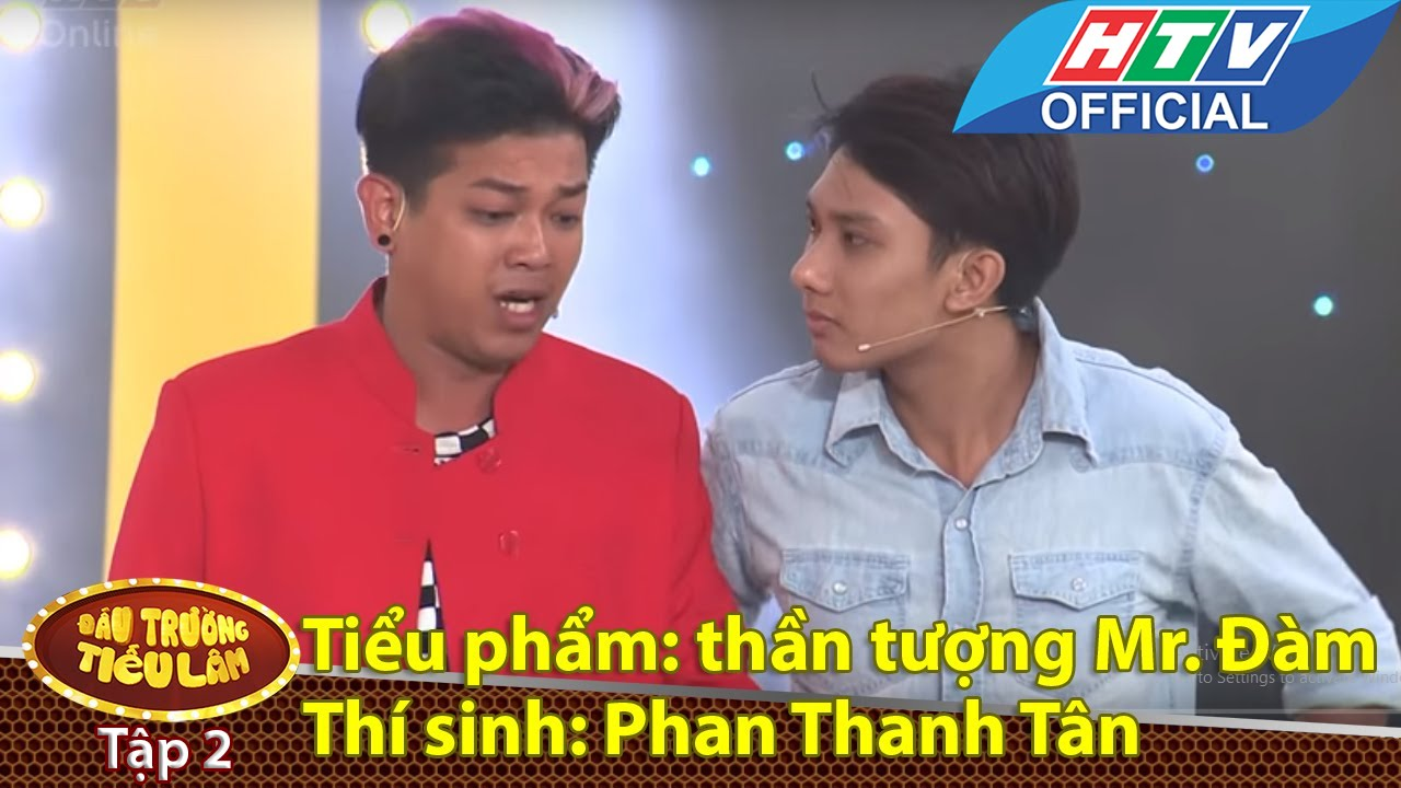 Đấu trường tiếu lâm | Tập 2 | Thí sinh 3: Phan Thanh Tân - thần tượng Đàm Vĩnh Hưng | 19/4/2016 |HTV
