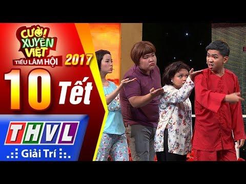 THVL | Cười xuyên Việt – TLH 2017 l Tập 10[2]: Ăn tết lớn - Khủng Long Tí Hon
