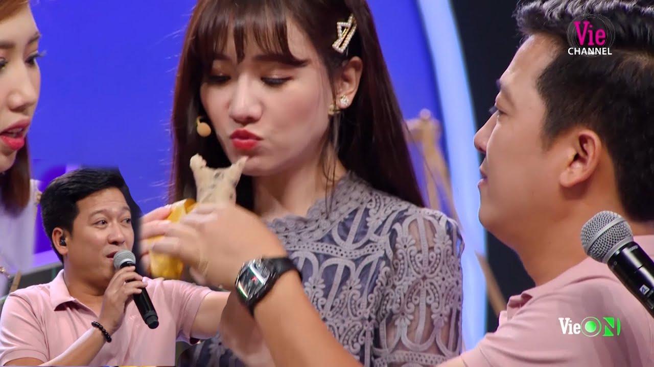Trường Giang tiếp tay cho Hari Won ĂN SẬP gánh bánh trong Ai Là Số 1 | Trường Giang Best Collection