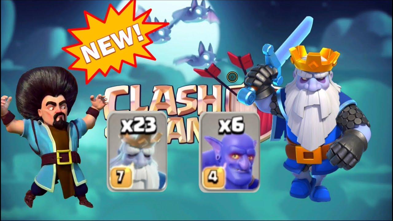New Combo Gây Bão - 23 ROYAL GHOST 6 BOWLER - Siêu Bất Ngờ  Cực Đỉnh | TÂYNINHQUEEN Clash of Clans