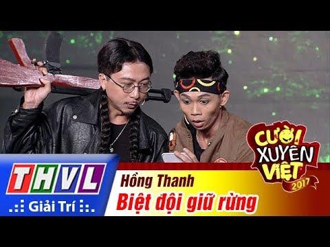 THVL | Cười xuyên Việt 2017 - Tập 16[2]: Hồng Thanh liều mình chiến đấu với lâm tặc để bảo vệ rừng