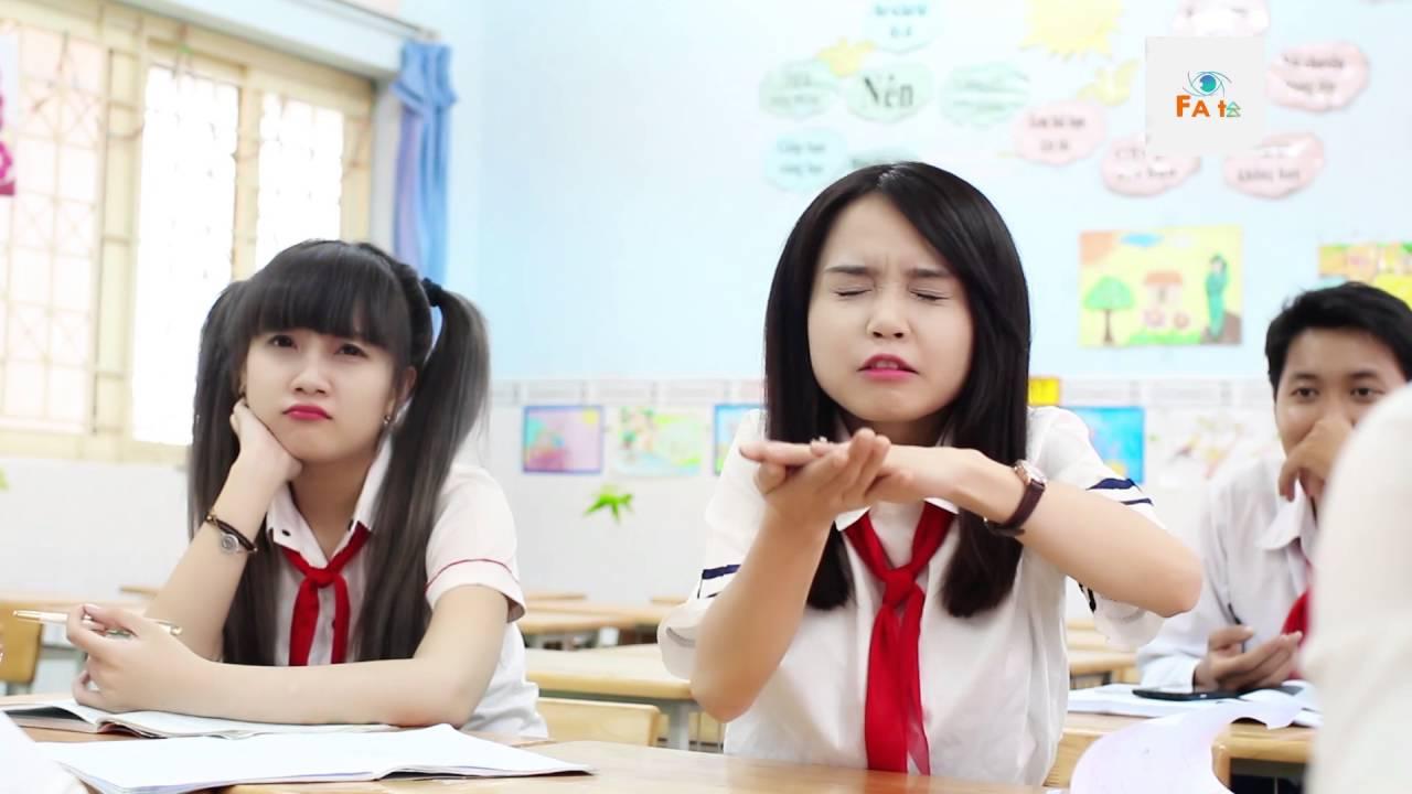 [Phim Ngắn Cấp 3] Lớp Học Bá Đạo - Lương Ái Vi,Cherry Nguyễn,Gia Hân [FATV] - Tập 2