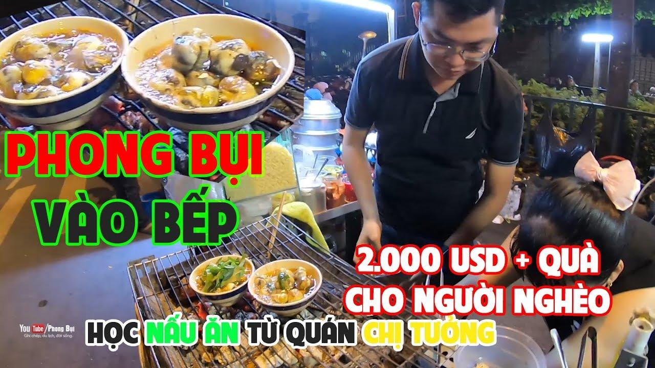 Ghé quán chị Tưởng tự nấu món ĐẶC SẢN và nhận 2.000USD tặng xóm Việt Campuchia | PHONG BỤI