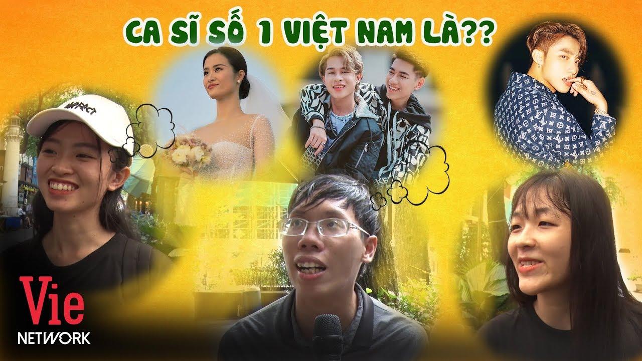 Ai Là Ca Sĩ Số 1 Việt Nam hiện nay? Fan Sơn Tùng MTP đi muôn nơi | ASK 100