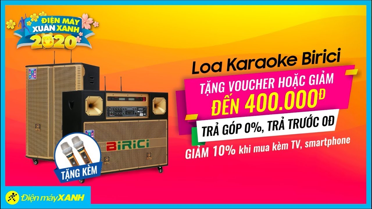 Loa Karaoke Birici • Điện máy XANH