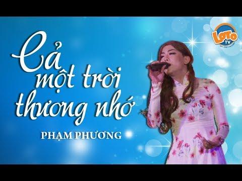 Phạm Phương (phiên bản hoàn hảo Hồ Ngọc Hà) cover CẢ MỘT TRỜI THƯƠNG NHỚ hay nhất