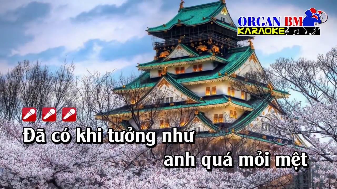 Sau Ánh Hào Quang karaoke Remix