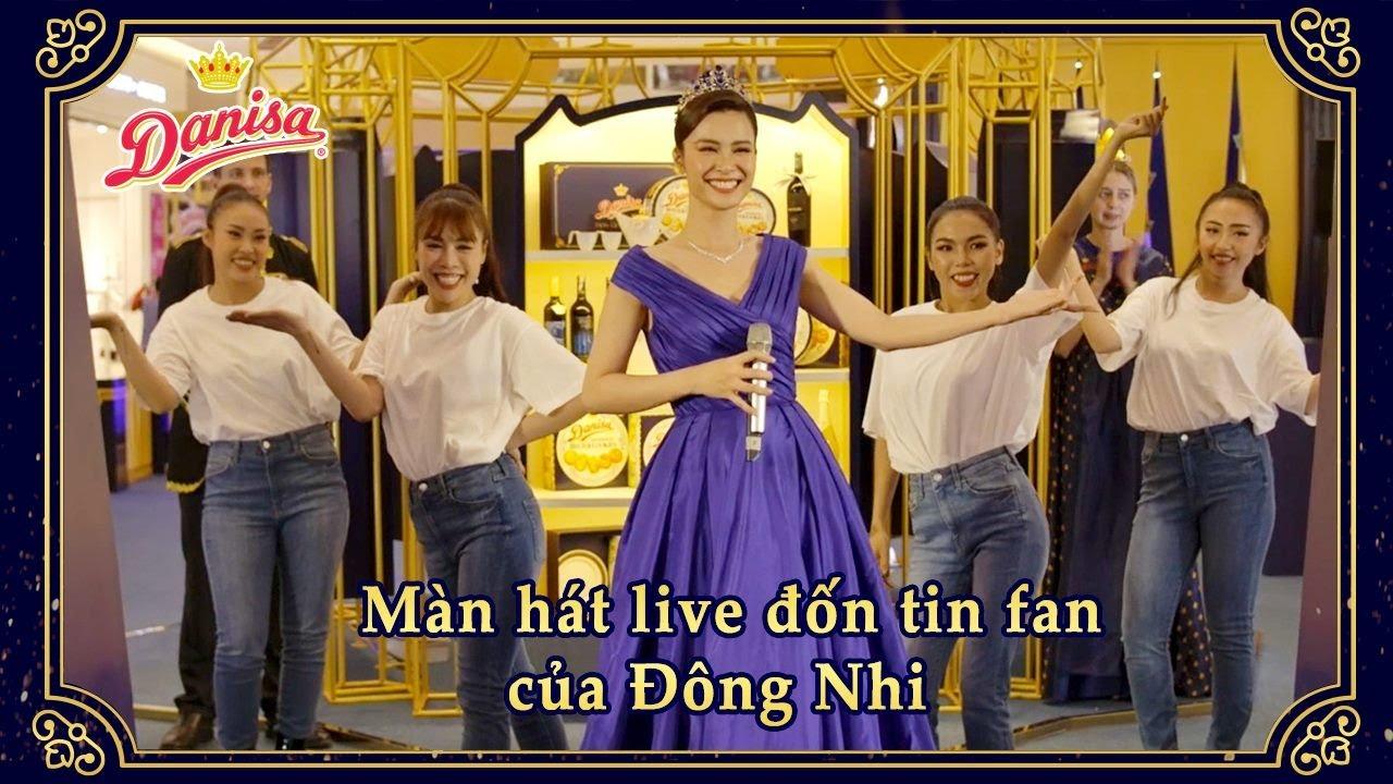 Màn trình diễn live đốn tim Fan của Đông Nhi | LỄ HỘI QUÀ TẶNG HOÀNG GIA DANISA